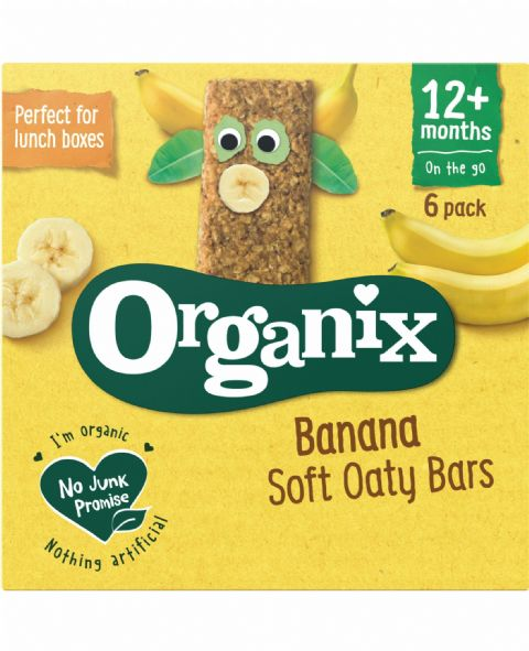 Banana Soft Oaty Bars 6x30g